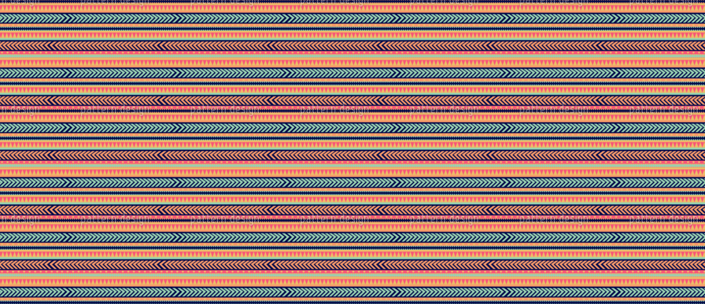 Tribal Aztec Pattern Design