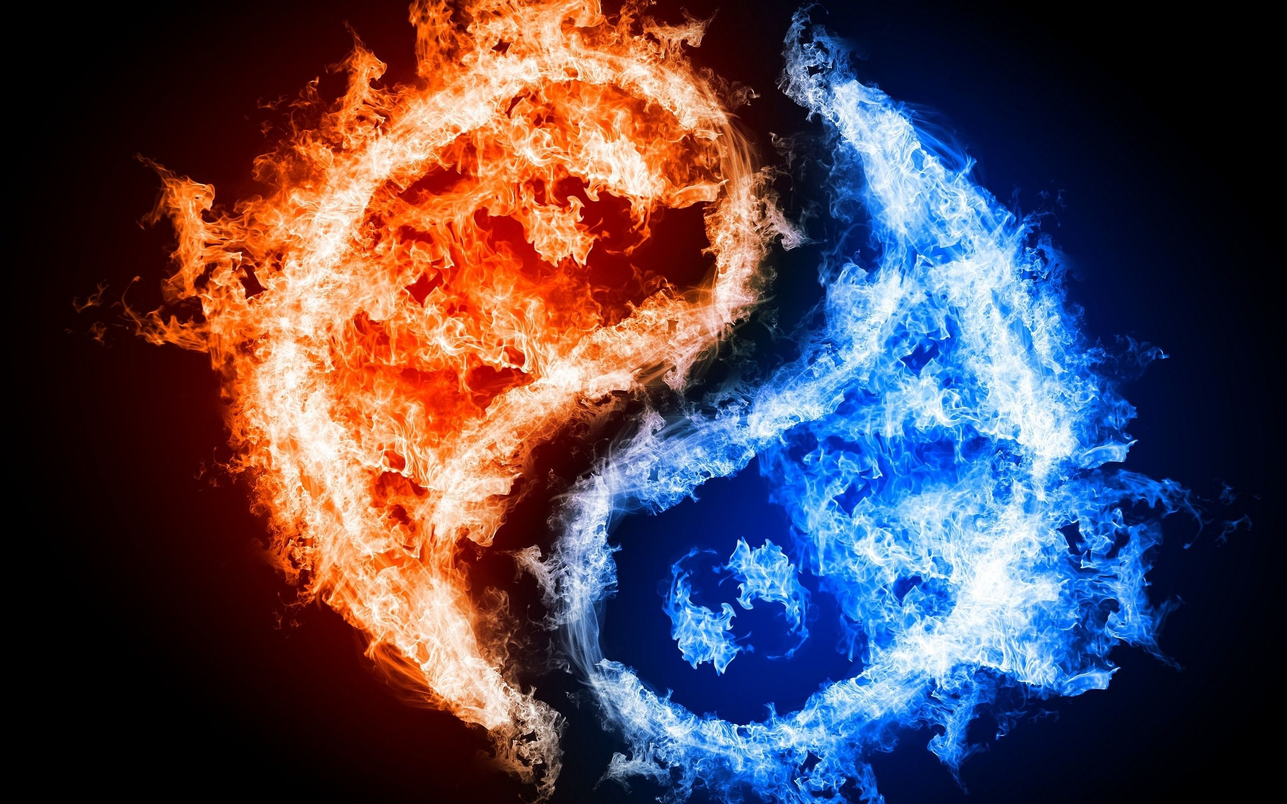 Blue Fire Wallpapers HD
