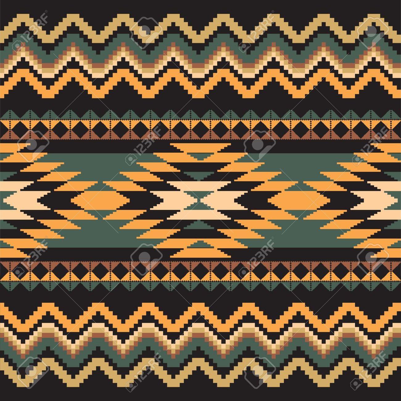 Aztec Textile Pattern