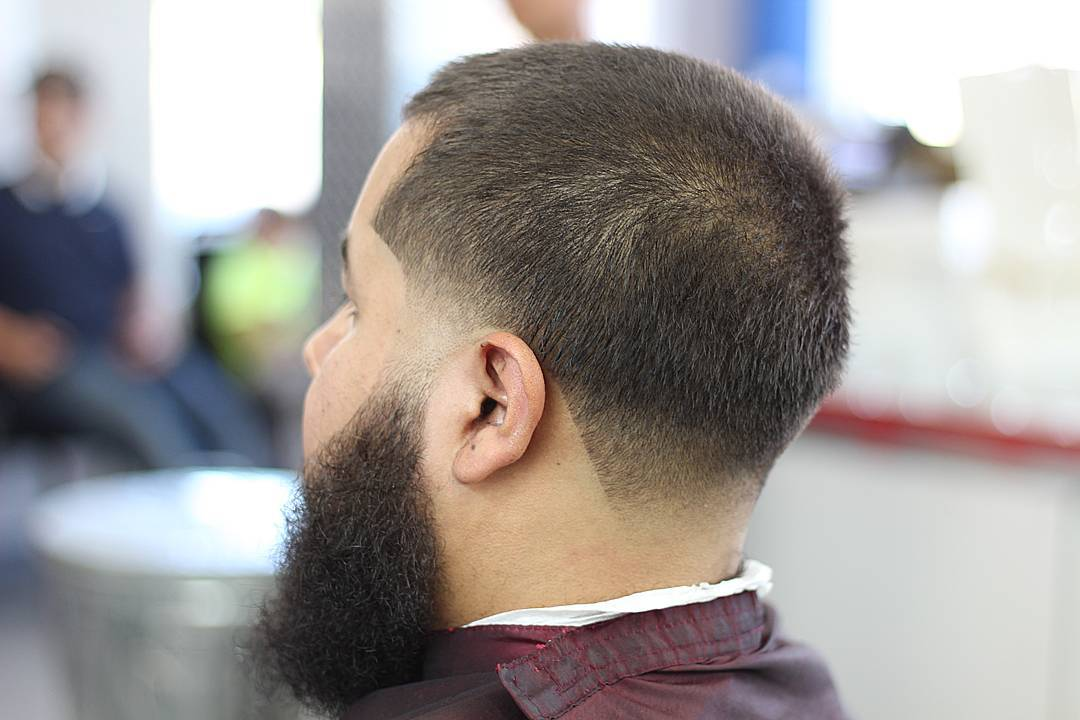 Fabulous Skin Taper Hair with Beard