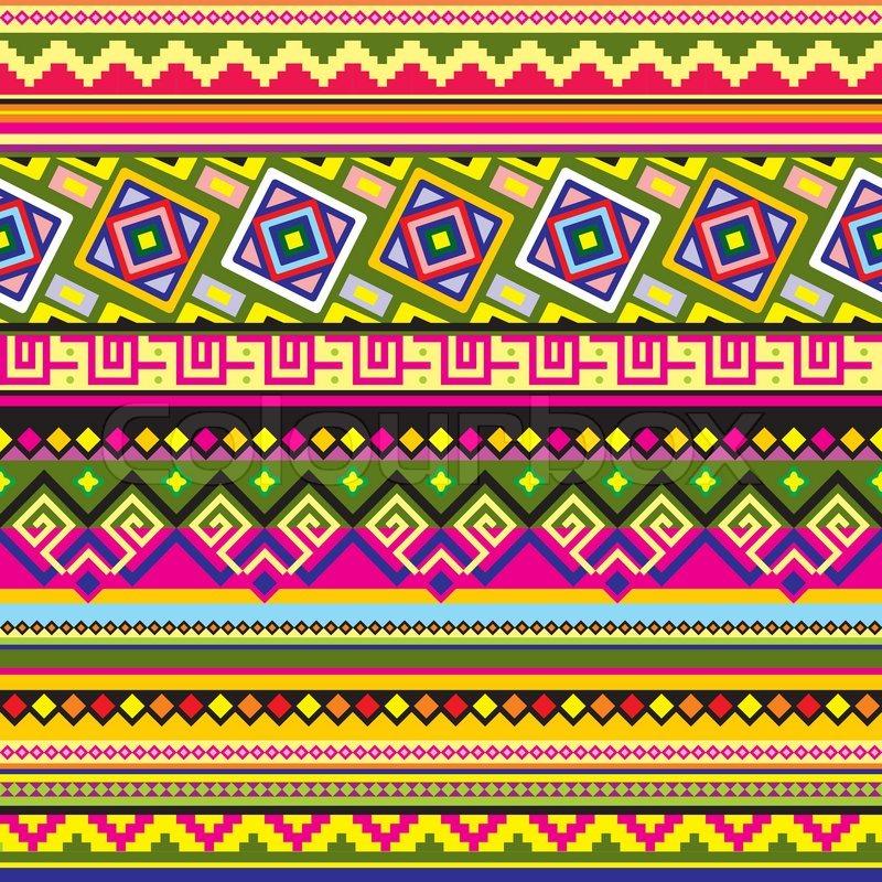 Vector Aztec Background