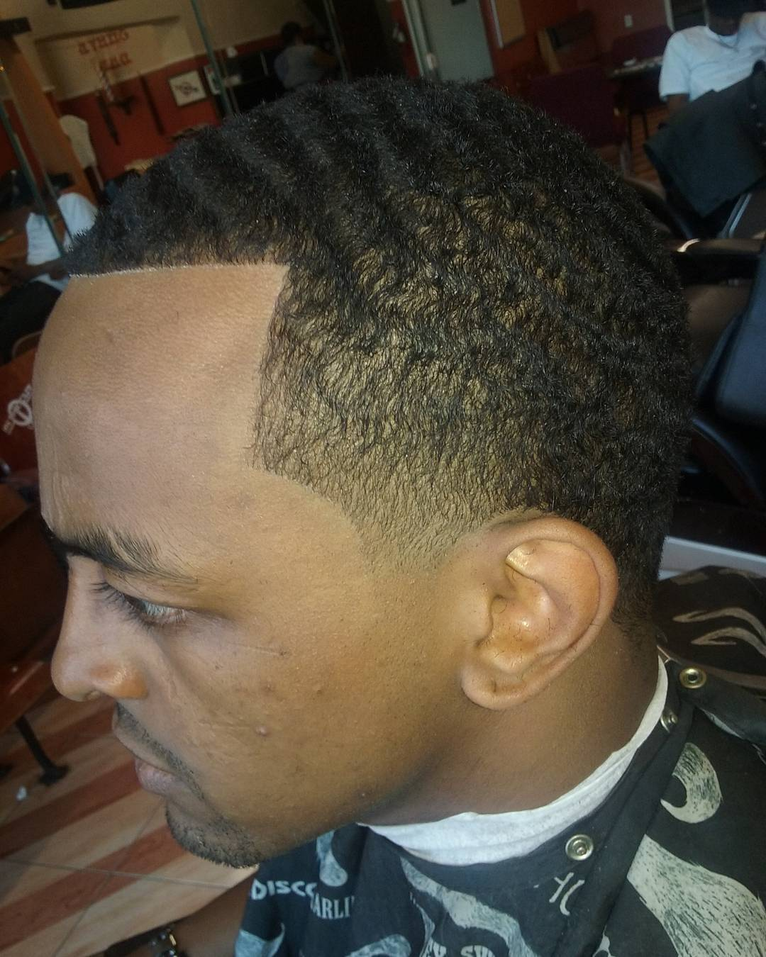 twist skin taper haircut