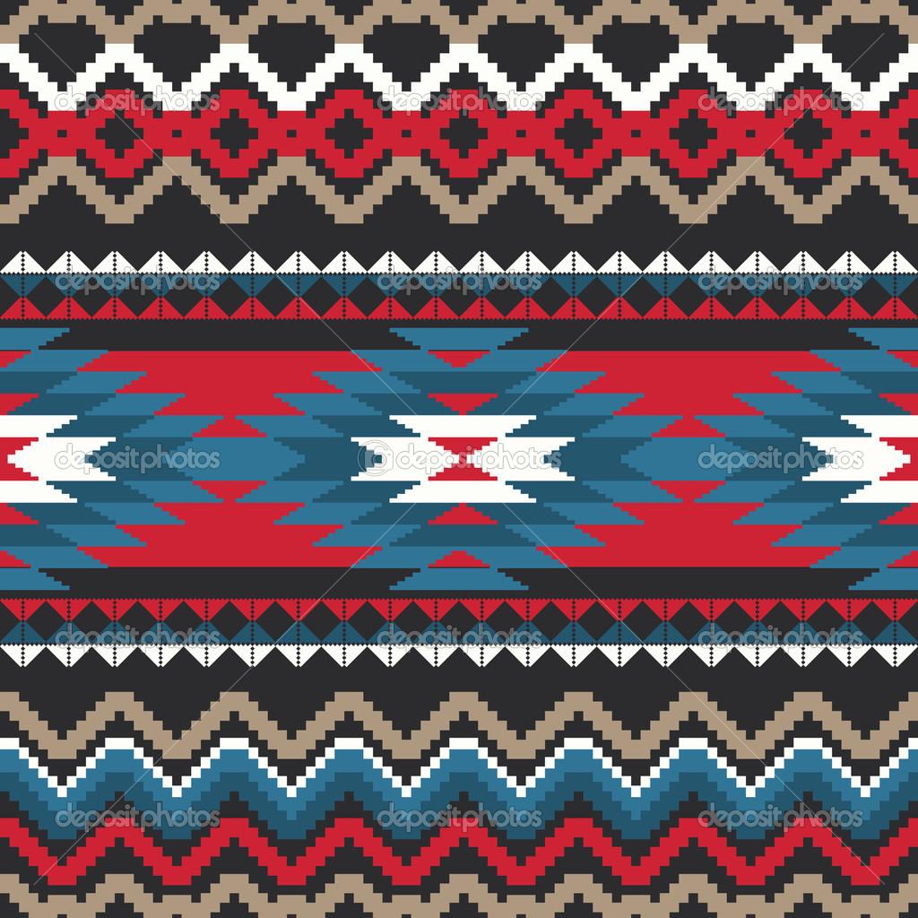 Aztec Fabric Pattern