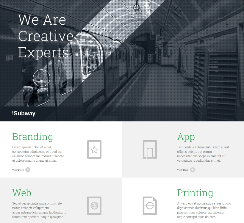 one page ajax wordpress theme