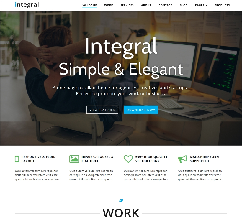 Simple & Elegant WP Theme