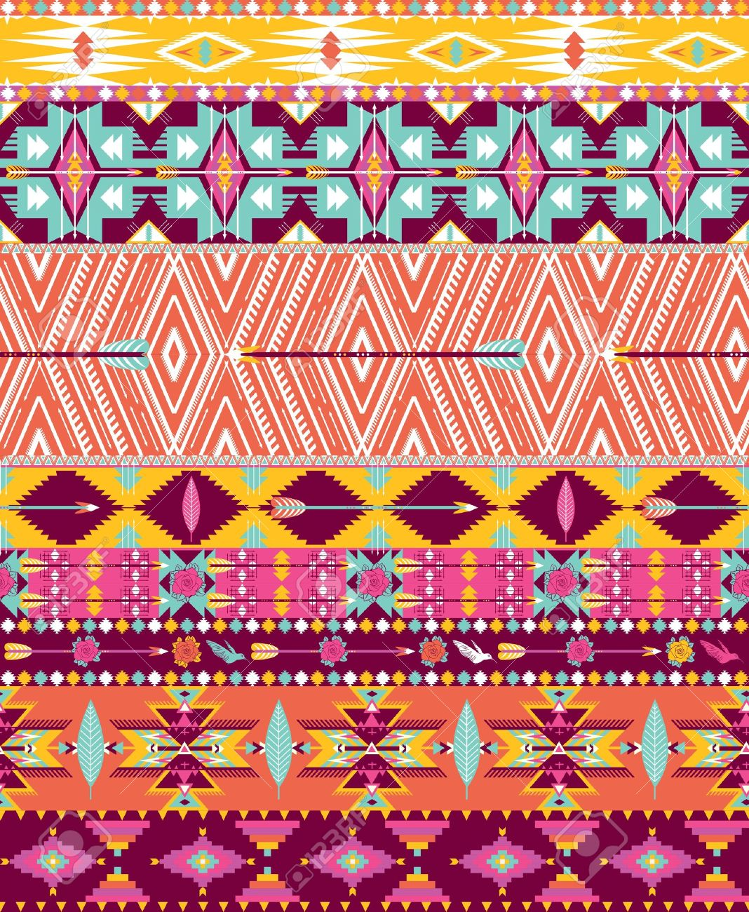 Design Trends Premium Psd Vector Downloads: 27+ Best Aztec Patterns, Wallpapers