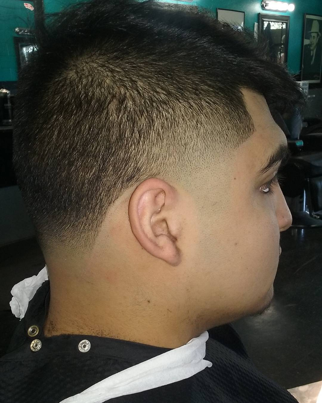 skin taper haircut for teenagers
