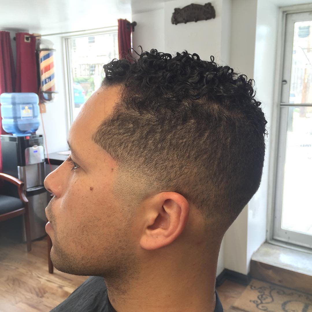 Choppy Taper Fade Hair Design