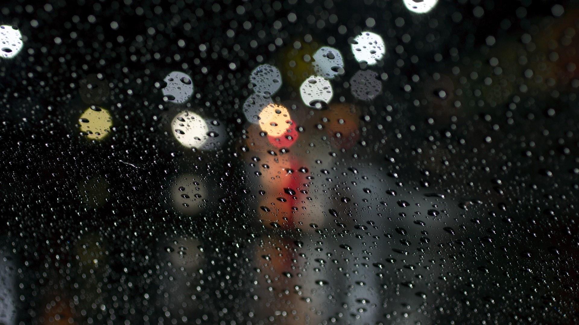 rain drop background