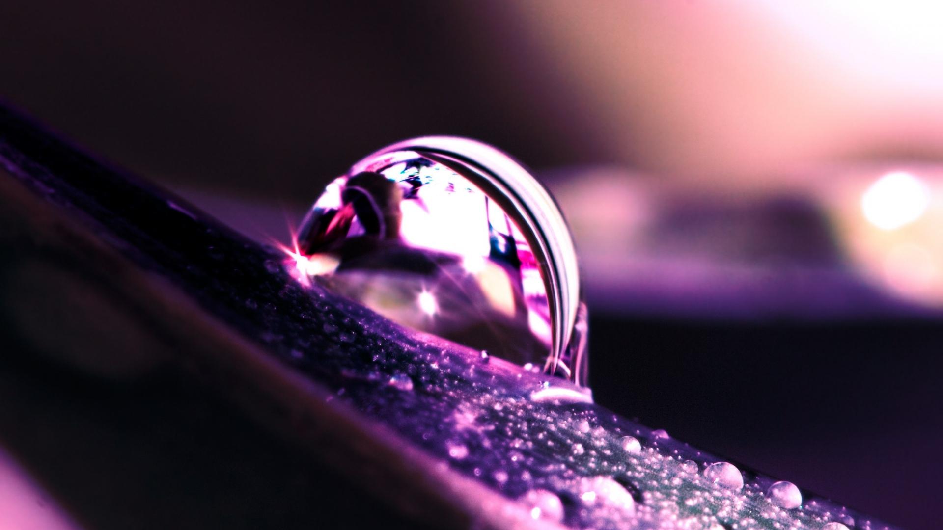 water dew computer background