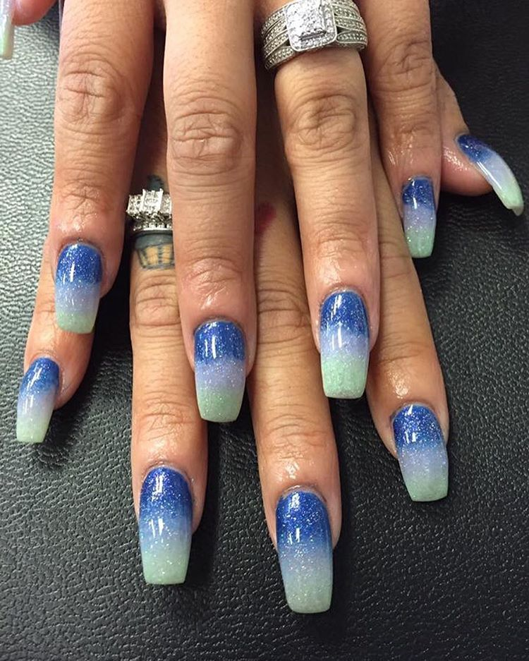 latest nail design spa