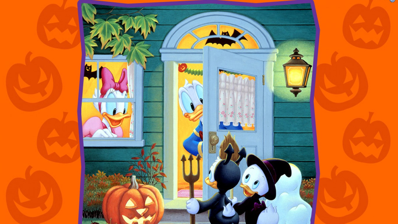 Disney Halloween Free Wallpapers