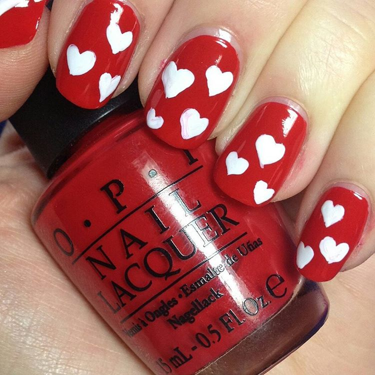 Love Symbol Nail Art Idea