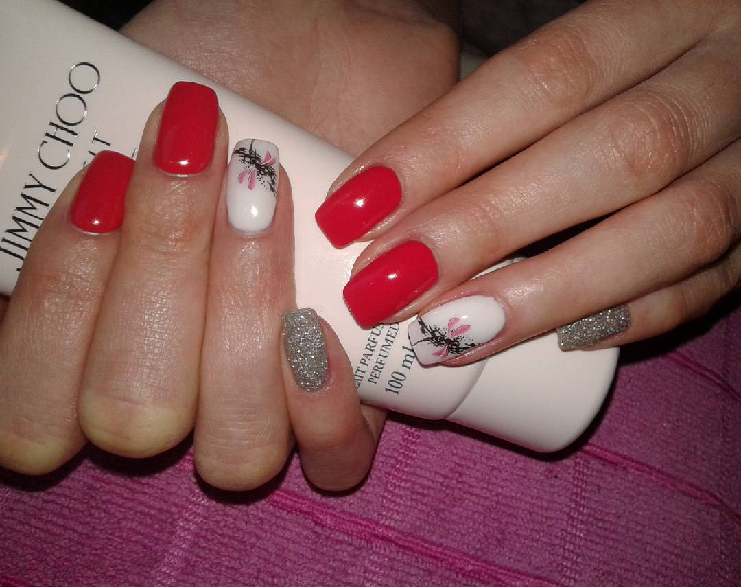 29 red finger nail art designs ideas design trends premium classic red nail design prinsesfo Gallery