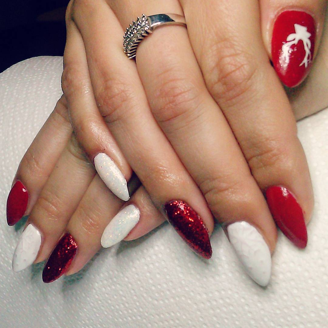 29 Red Finger Nail Art Designs Ideas Design Trends