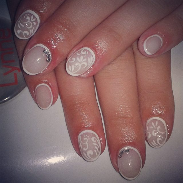 Awesome White Tip Nail Designs