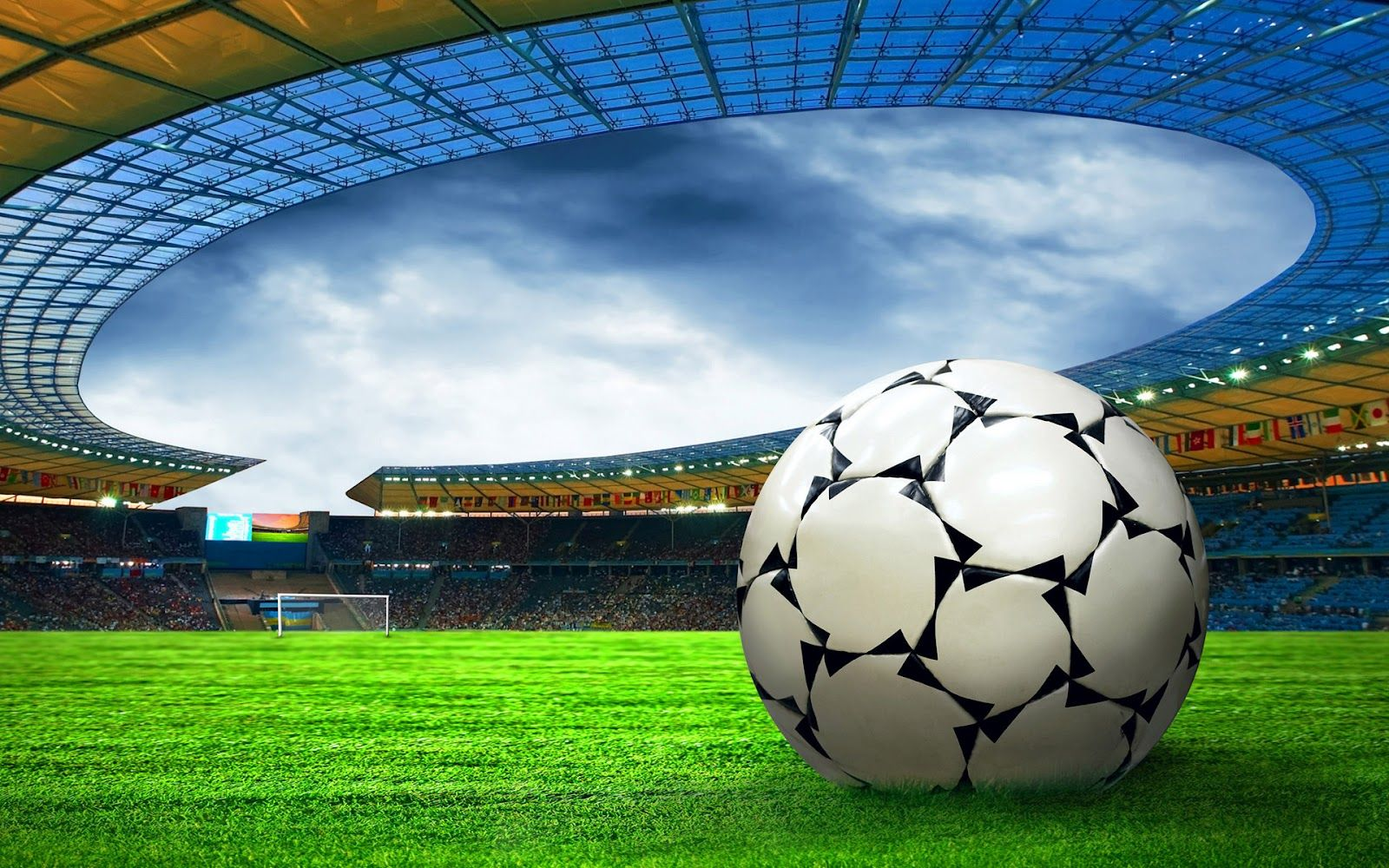 soccer stadium waallpaper