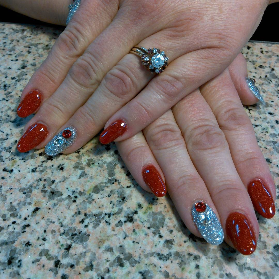 Wonderful Designed Nail Art Idea