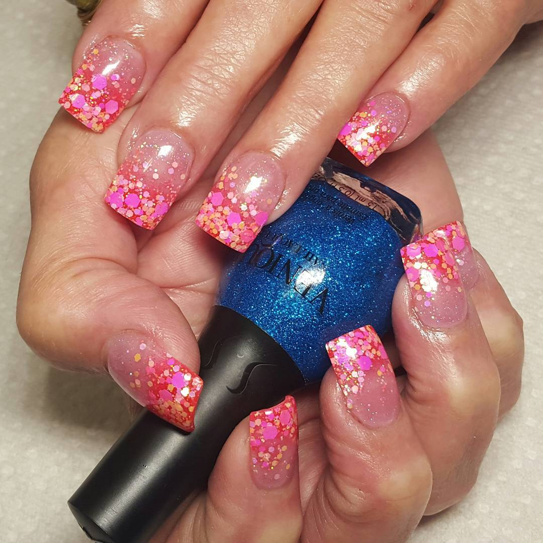 25+ Pink Summer Nail Arts, Ideas