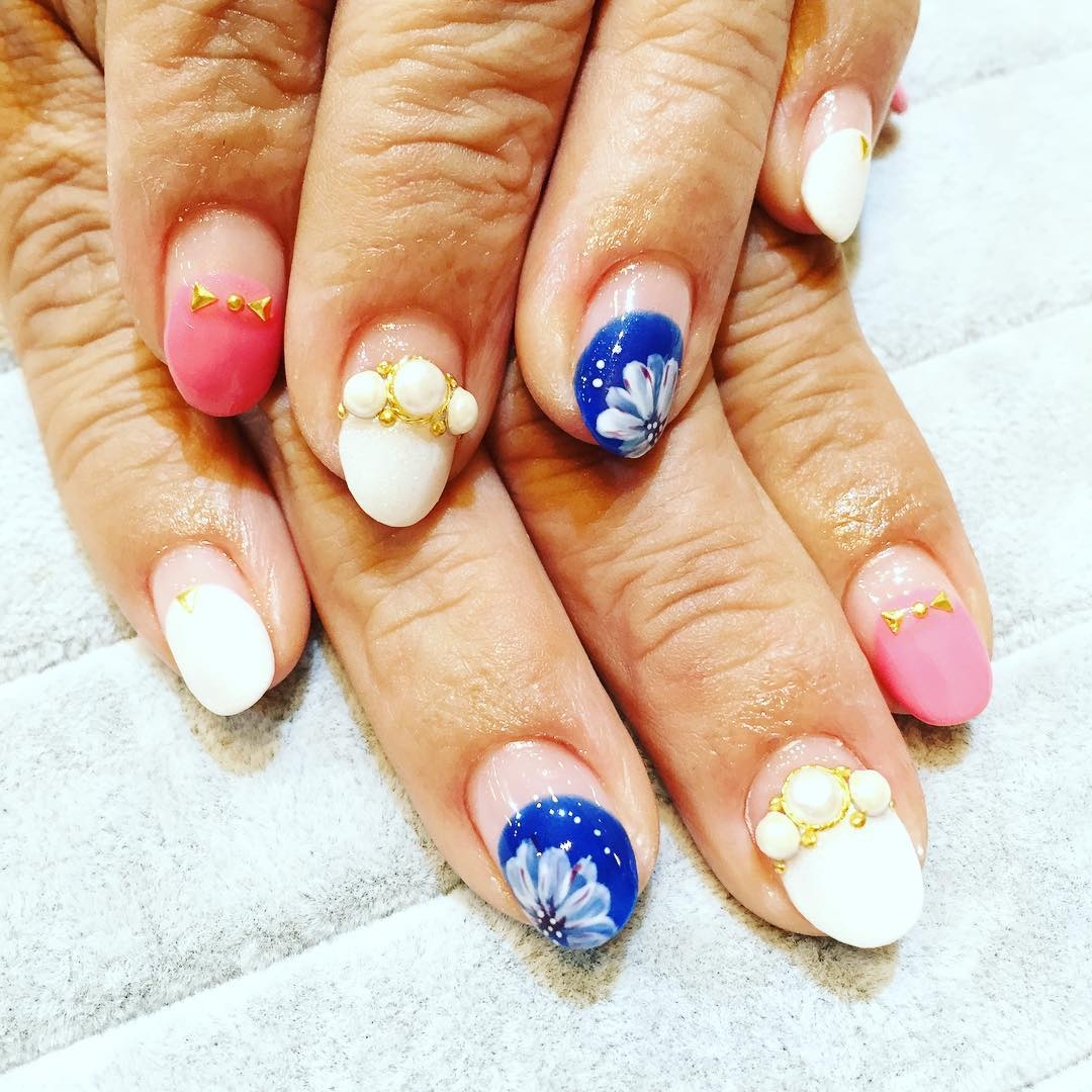 Awesome Summer Acrylic Nail Art