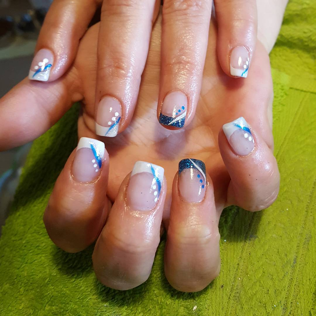 Nail Art Simple Designs: 26+ Summer Acrylic Nail Designs, Ideas