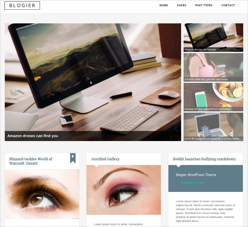 Multi-Purpose Blog & Magazine WordPress Theme