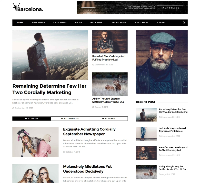 clean news magazine wordpress theme1