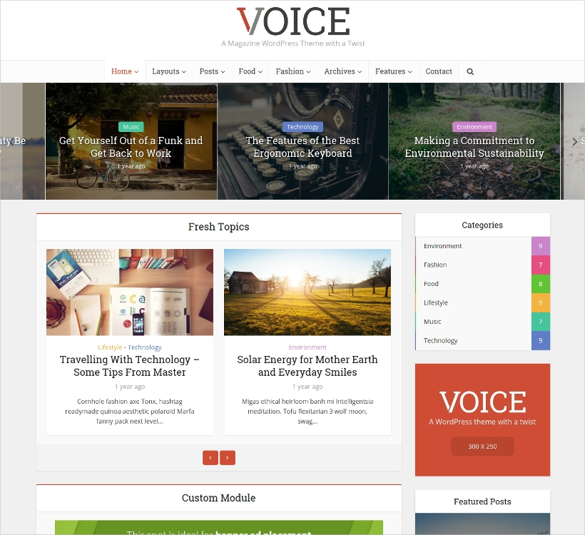 News Portal & Magazine WordPress Theme