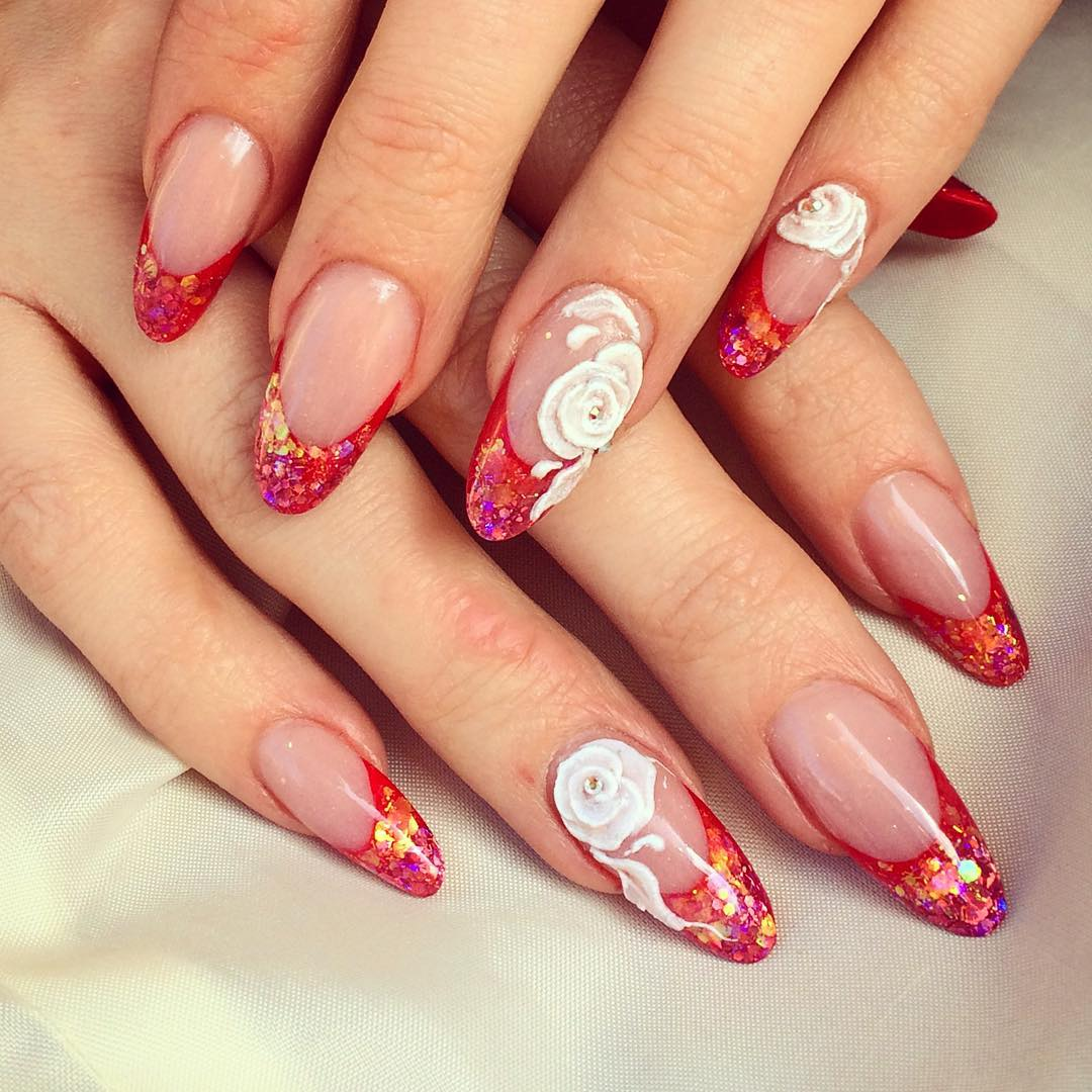 24 red summer nail art designs ideas design trends