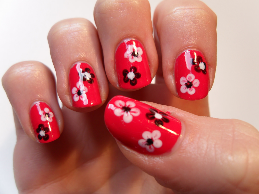 red summer nail art designs ideas design trends premium nail art idea