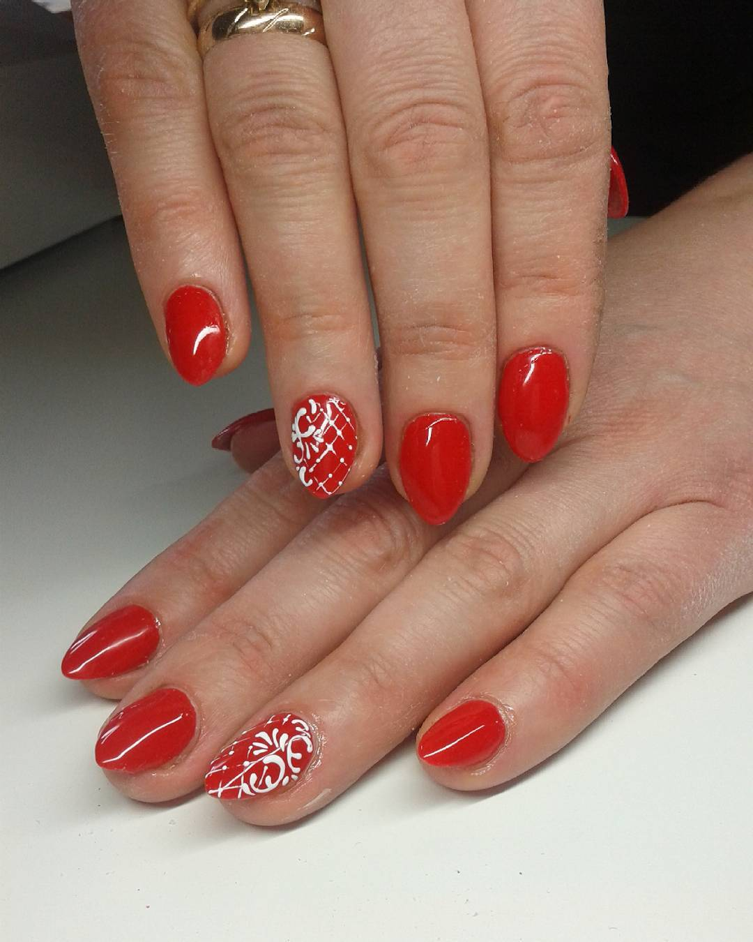 Summer Nail Trends 2018: 24+ Red Summer Nail Art Designs, Ideas