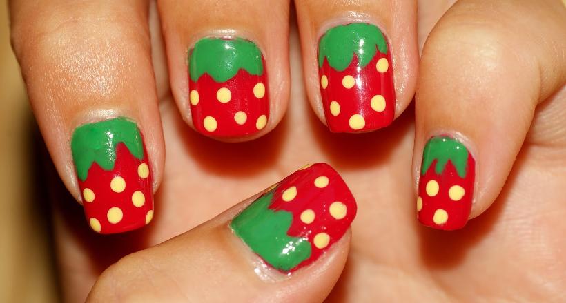24 Red Summer Nail Art Designs Ideas Design Trends Premium Psd