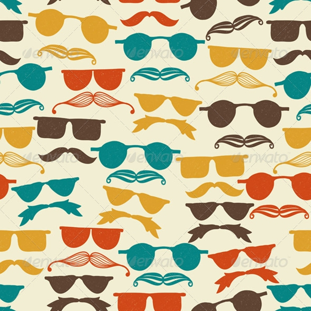Image Gallery hipsters backgrounds pattern
