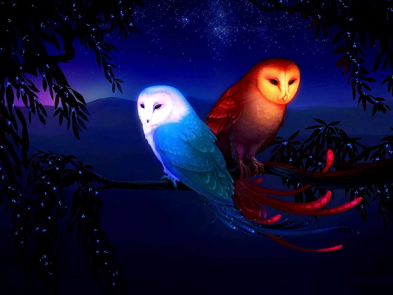 Owl Wallpapers for Nursery