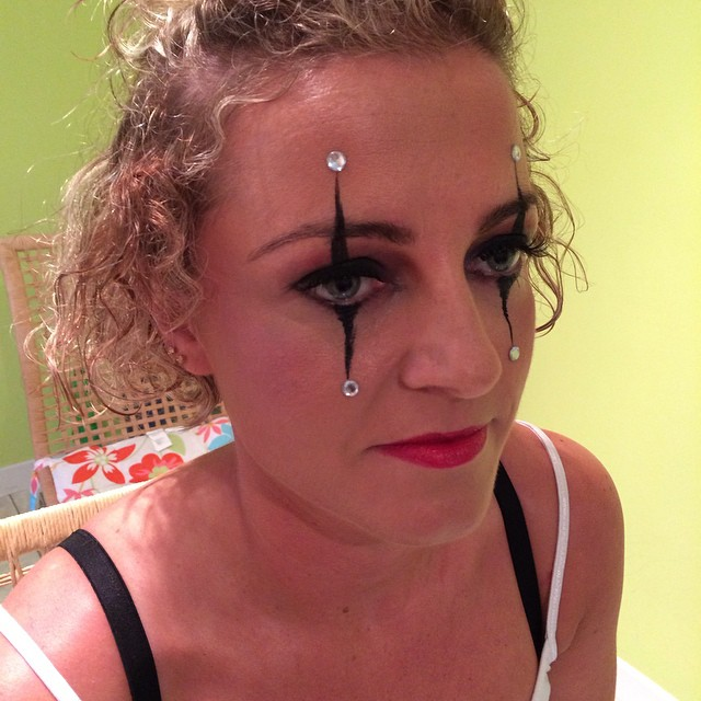 Makeup for Crying Harlequin