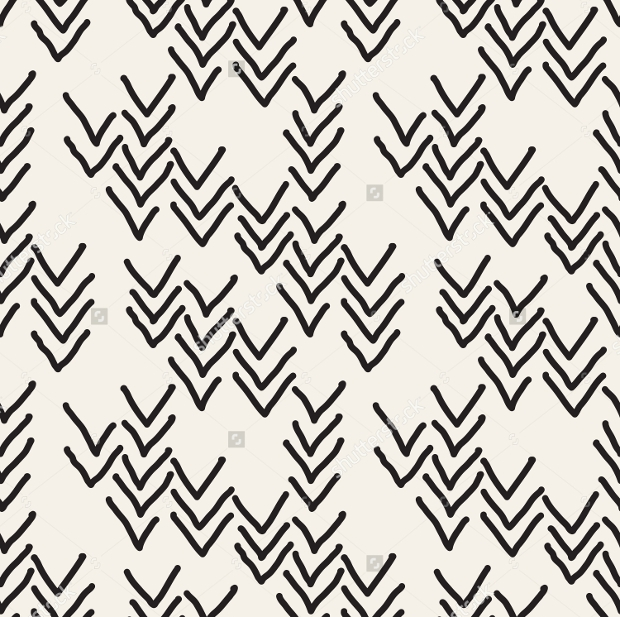 Hipster Print Graphic Design Pattern