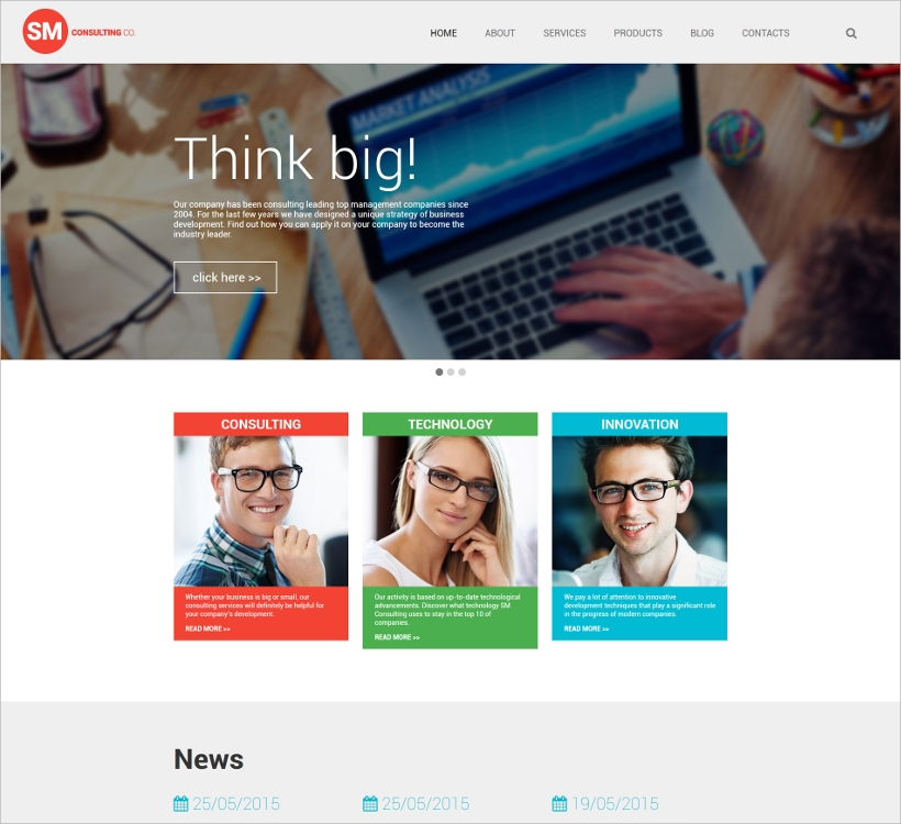 Business Consultancy WordPress Theme