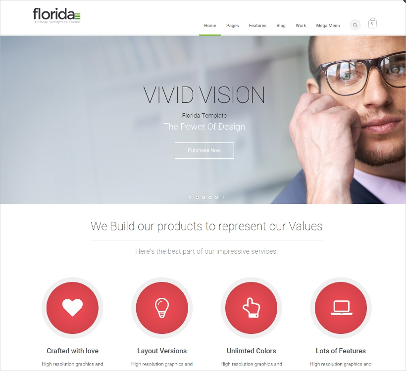 Florida Business WordPress Theme