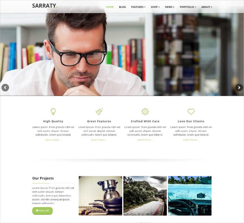 Retina Responsive Multi-Purpose Theme