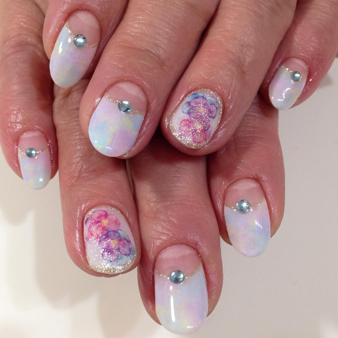 Popular Summer Gel Nail Polish Art
