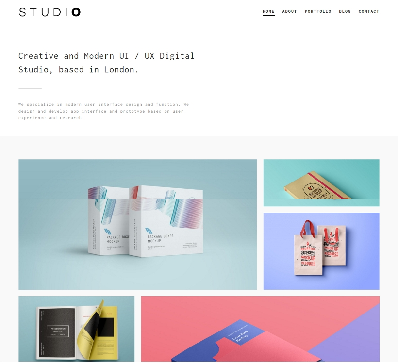 Studio Responsive WordPress Theme