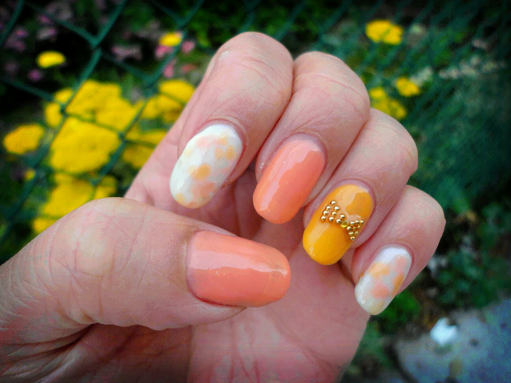 Gel Nail Design Ideas mint cute gel nails design Simple Summer Gel Nail Designs