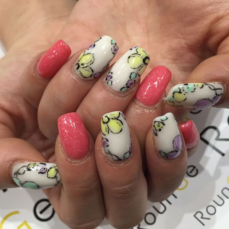 Japanese Designed Cute Summer Nails