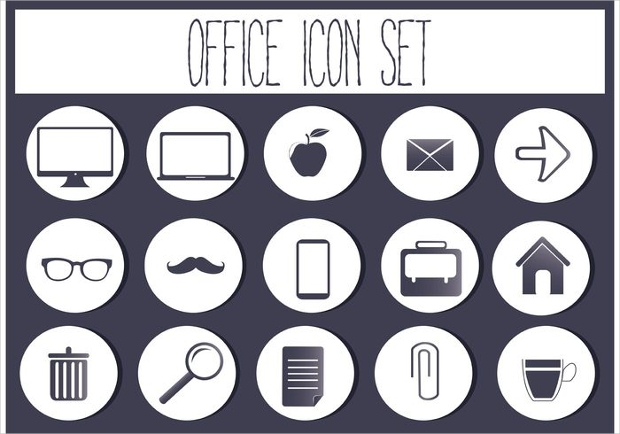 Icon Set for Office
