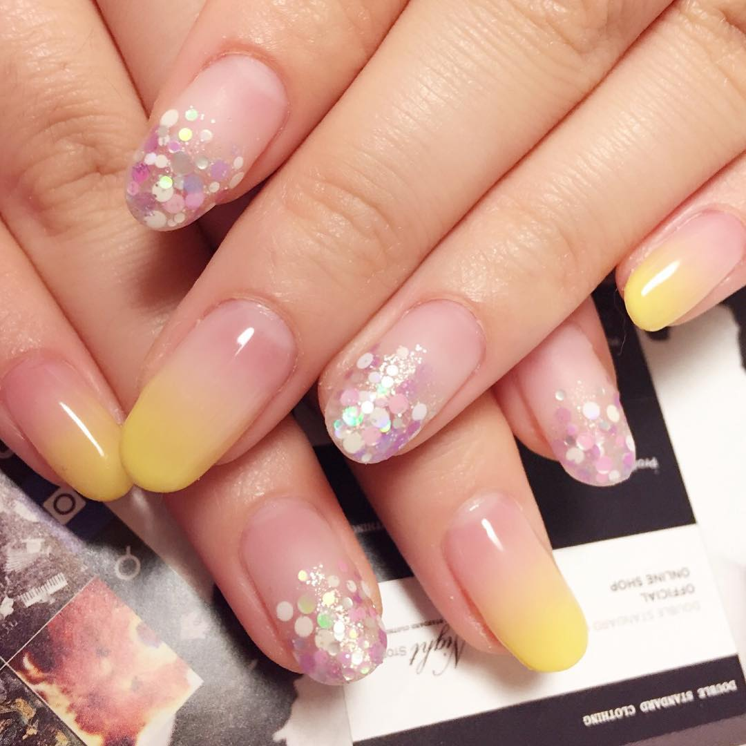 Sparkles Gel Designs For summer