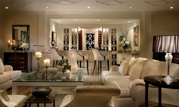 Royal Luxury Modern Living Room Design