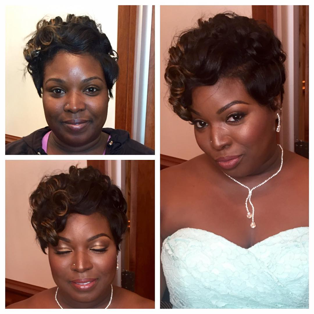wedding hairstyle for naturally curly hair