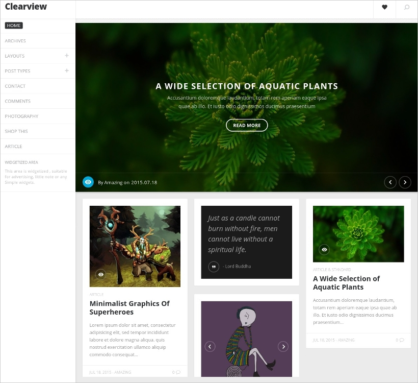 Clean & Responsive Blog Theme