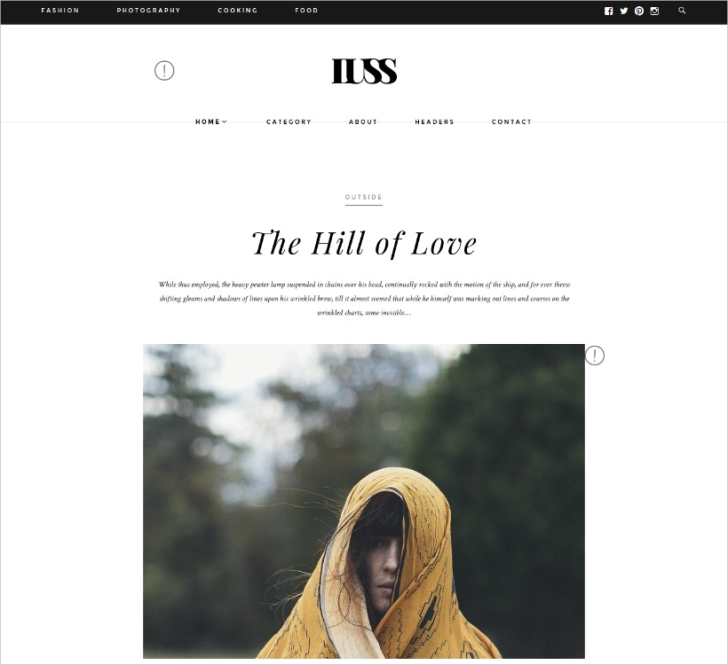 Minimalist Agency Blog Theme