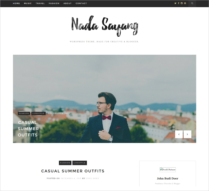 Nordic Blog & Shop Theme